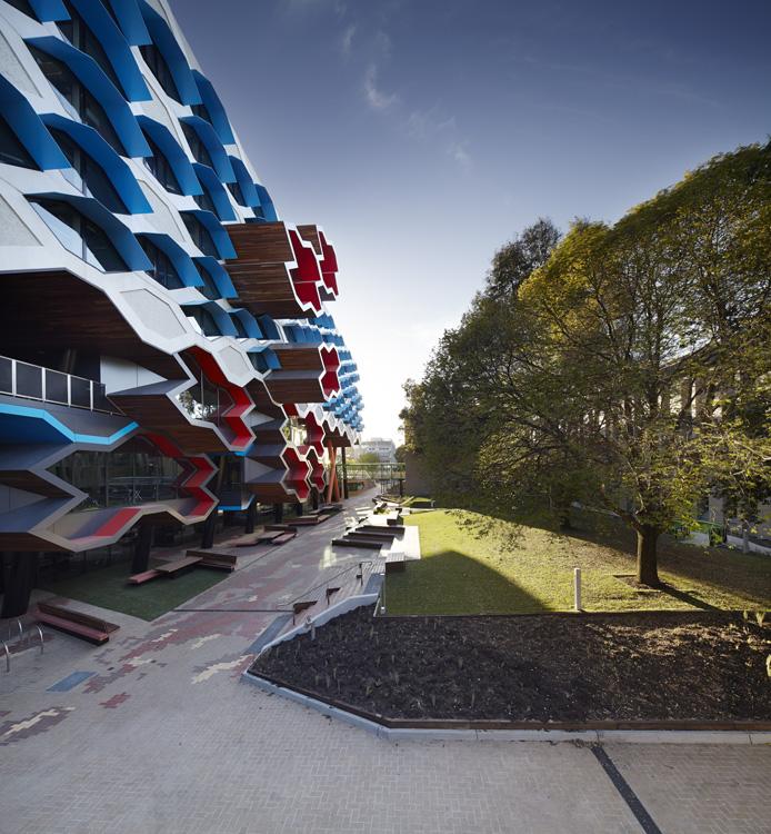 LIMS_La Trobe Institute for Molecular Science_La Trobe University_Lyons_Architects_Melbourne_Australia_Architecture_Architectural Photography_Architectural Photographer_Nils Koenning_02