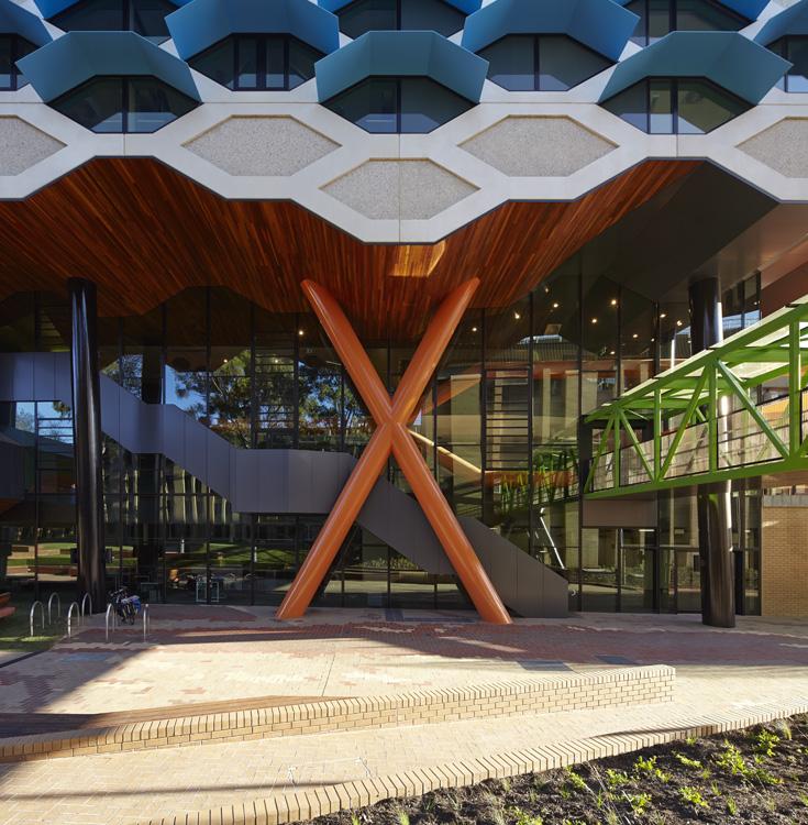 LIMS_La Trobe Institute for Molecular Science_La Trobe University_Lyons_Architects_Melbourne_Australia_Architecture_Architectural Photography_Architectural Photographer_Nils Koenning_07