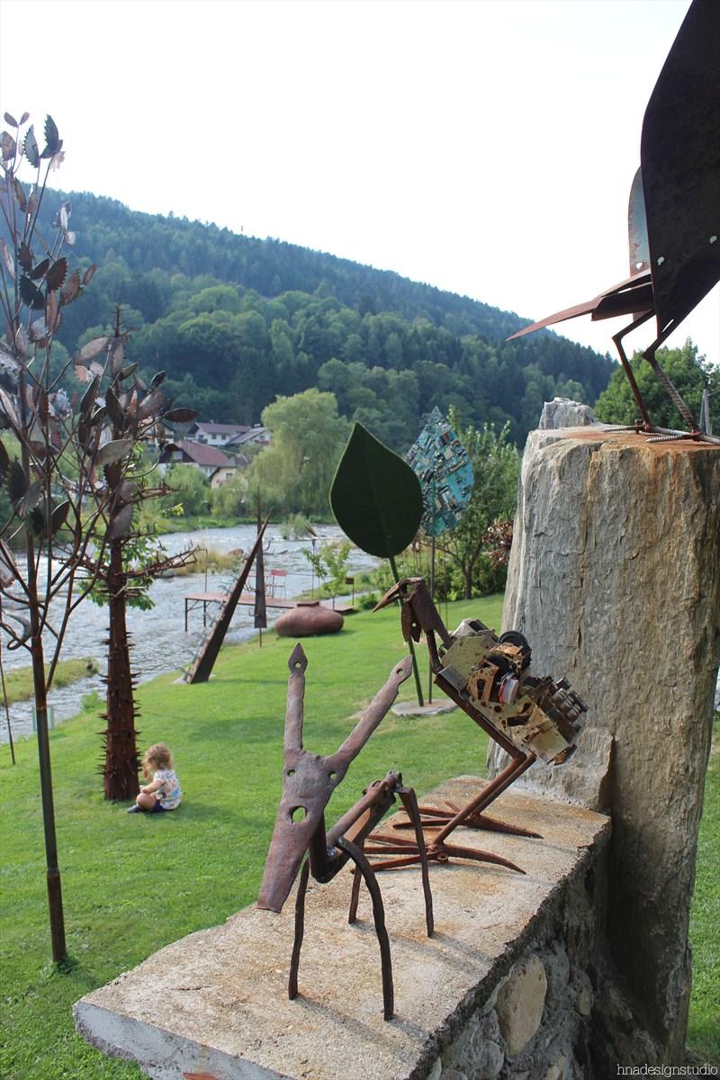 skulpturengarten atelier fritz russ gmund 17