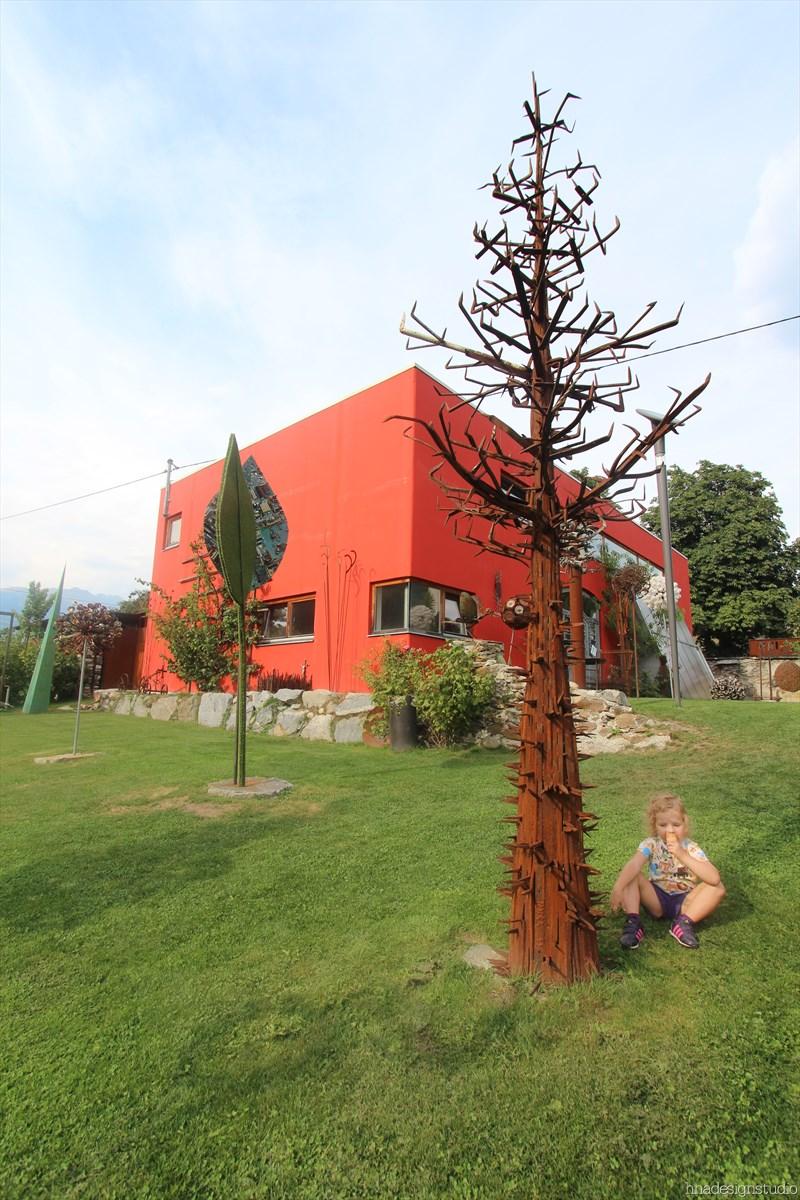 skulpturengarten atelier fritz russ gmund 2