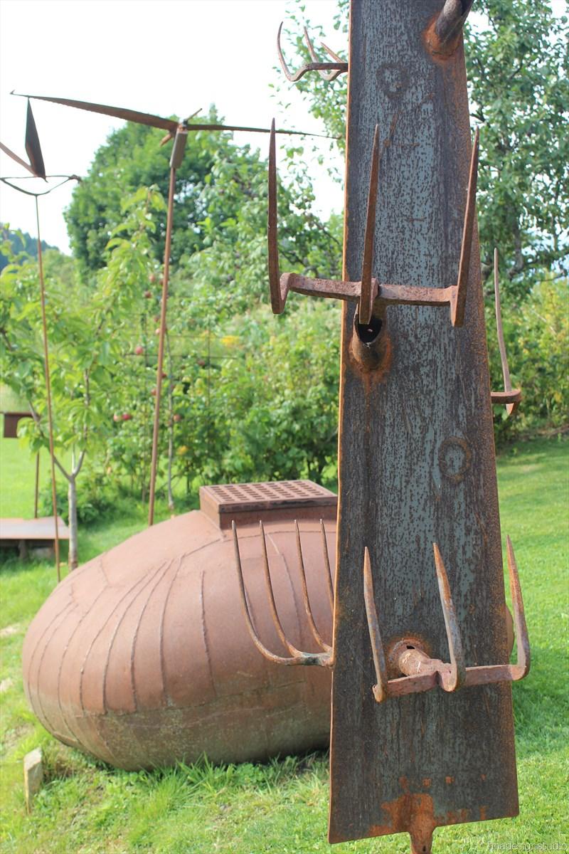 skulpturengarten atelier fritz russ gmund 20