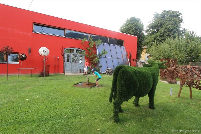 skulpturengarten atelier fritz russ gmund 3