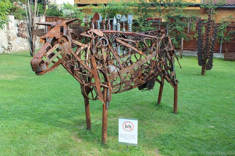 skulpturengarten atelier fritz russ gmund 34