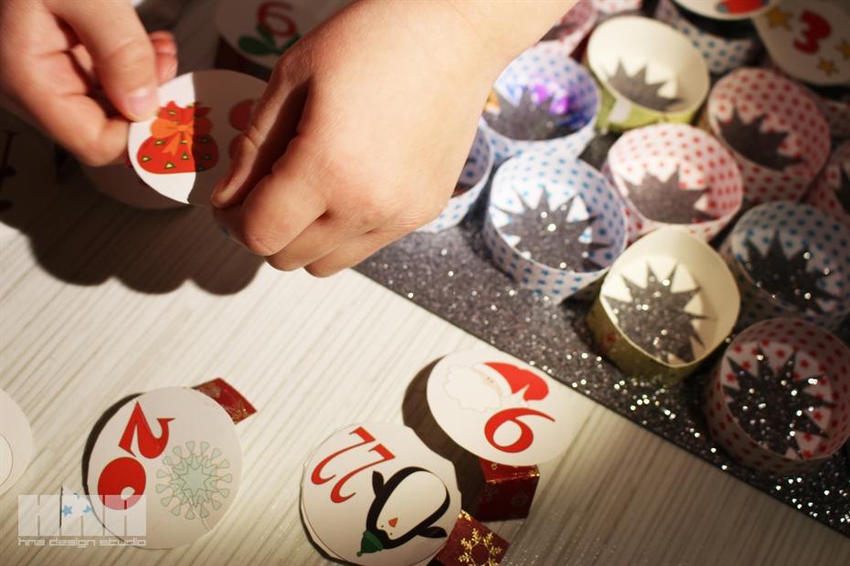 20 adventi kalendarium hna design