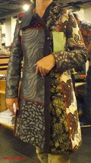 desigual patchwork kabát