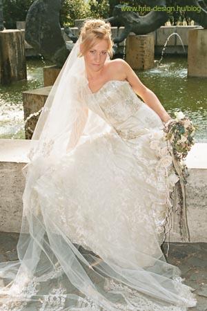 hujber-nagy aletta esküvői ruhája