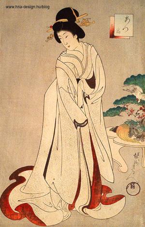 a kimonó története