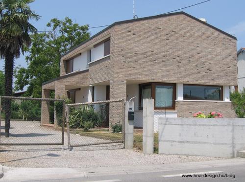 modern házak külföldről - természetes burkolattal