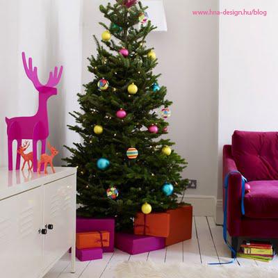 karácsonyi enteriőr és dekoráció