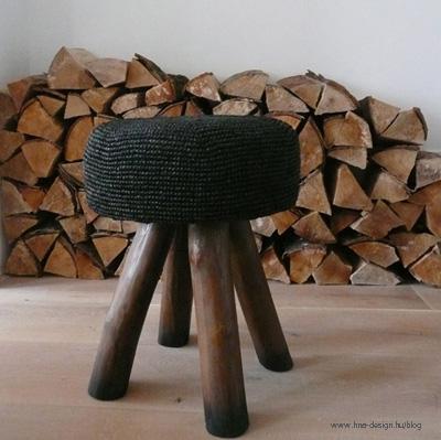 kötött és horgolt bútorok