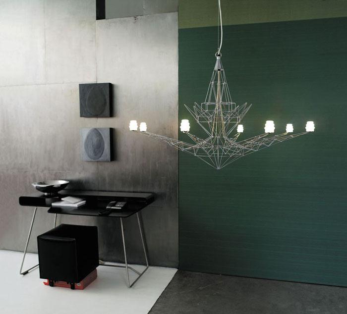 Ultramodern ház előszobája