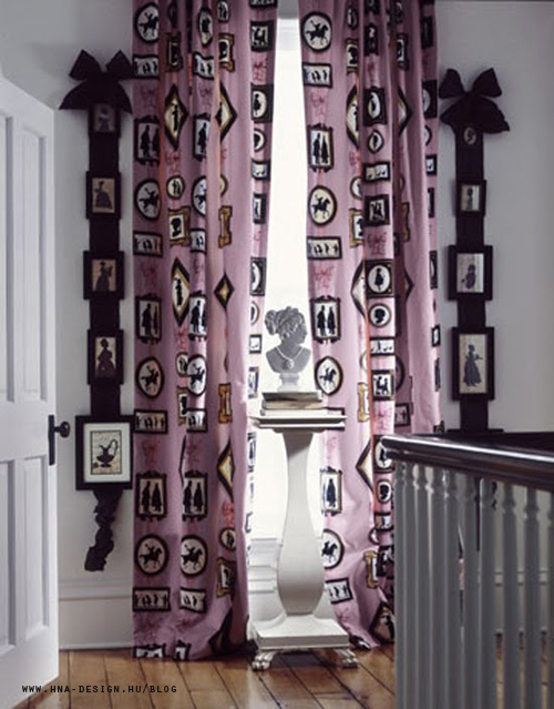 Árny dekorációk a lakberendezésben