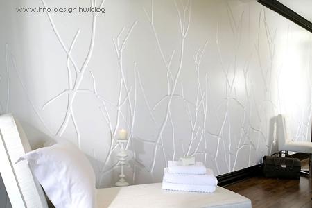 fali domborművek a modern lakberendezésben