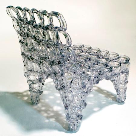 Újrahasznosított anyagokból készült bútorok
