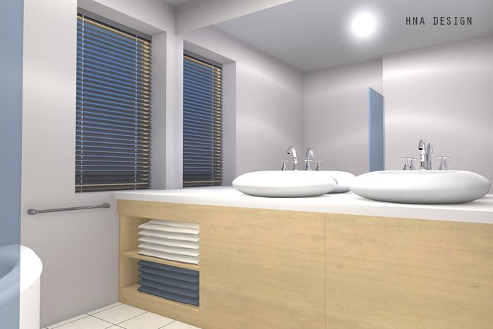 Variációk egy témára - társasházi lakás belsőépítészeti tervei 3 különböző családmodellre