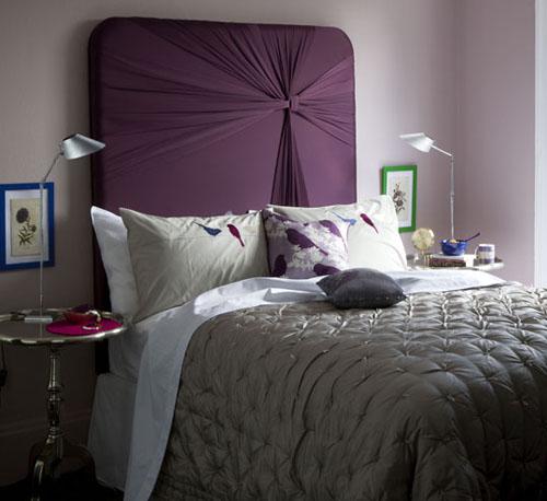 Ágyak különleges modern ágytámlákkal