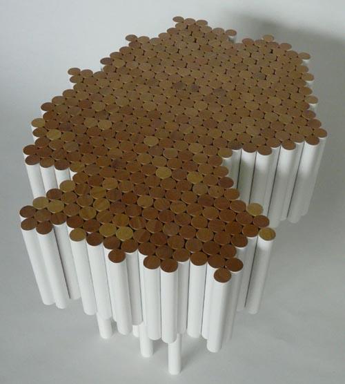 természetes anyagból készült organikus biobútorok