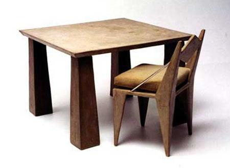 Beton bútorok és tárgyak