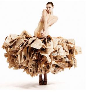 100% újrahasznosított divat