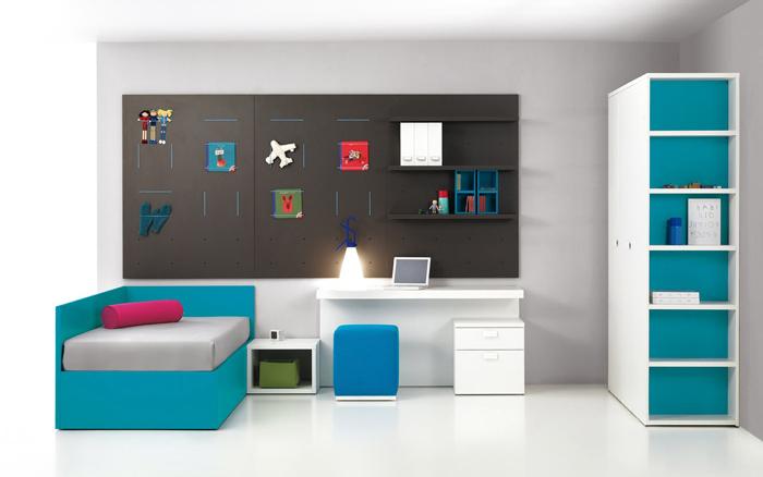 Modern színes álom gyerekszoba