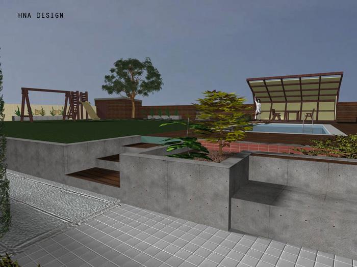 100 nm-es törökbálinti családi ház koncepcióterve