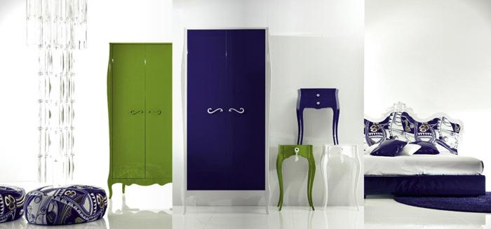 Modern eklektikus hálószobák és fürdőszobák.