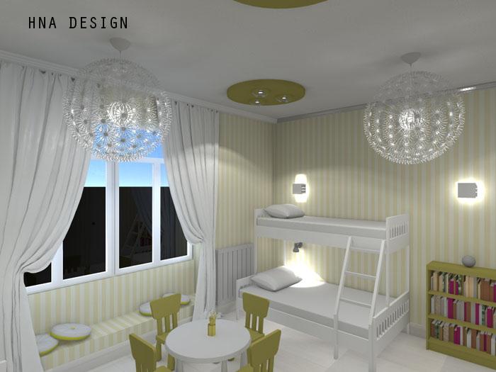 230 nm-es eklektikus ház belsőépítészeti tervei.