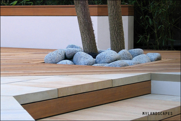 Modern kert Amir Schlezinger-től.