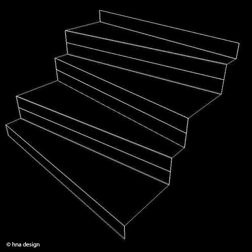 hogyan csináljuk: fémszerkezetű, modern lépcső