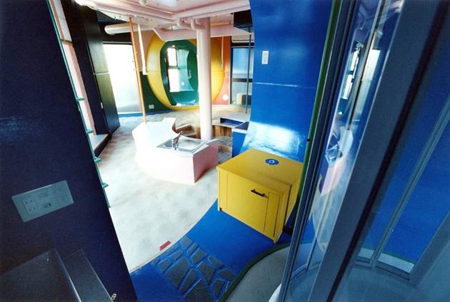 HÉTVÉGI HÁZ: színes japán loft - home'n architecture..
